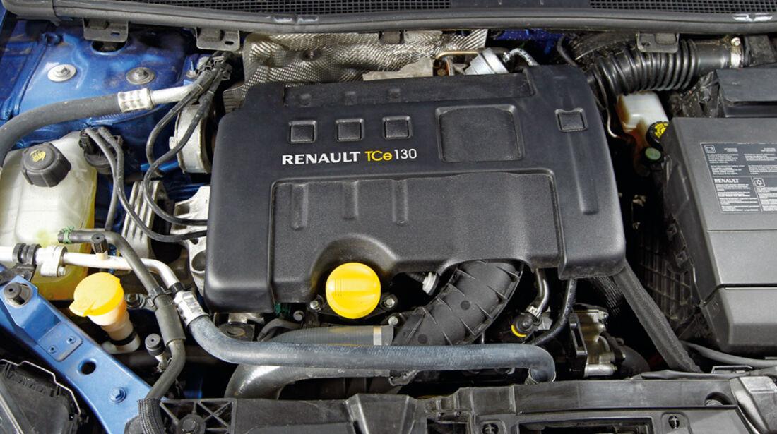 Renault Megane TCe 130, Motor, Motorraum