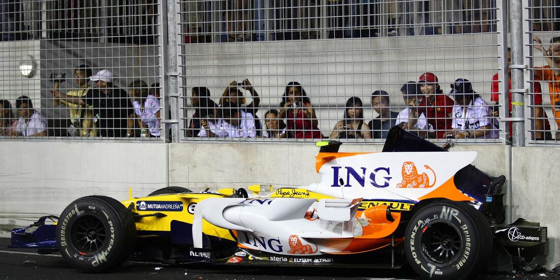 Renault - Nelson Piquet - GP Singapur - 2008 - F1