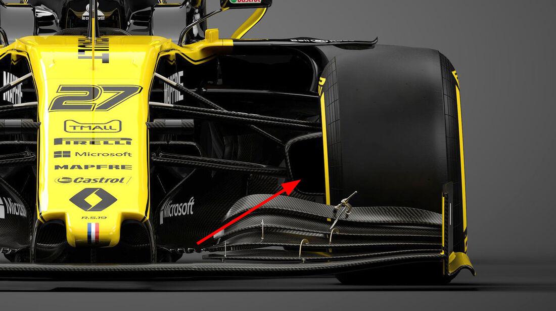 Renault R.S19 - F1-Auto - Saison 2019