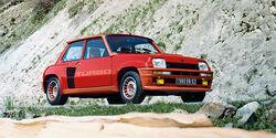 Renault R5 Turbo, Seitenansicht