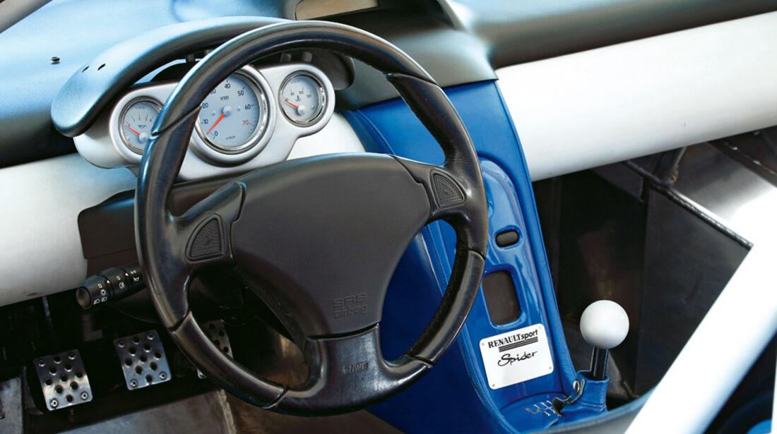 Renault Sport Spider, Lenkrad