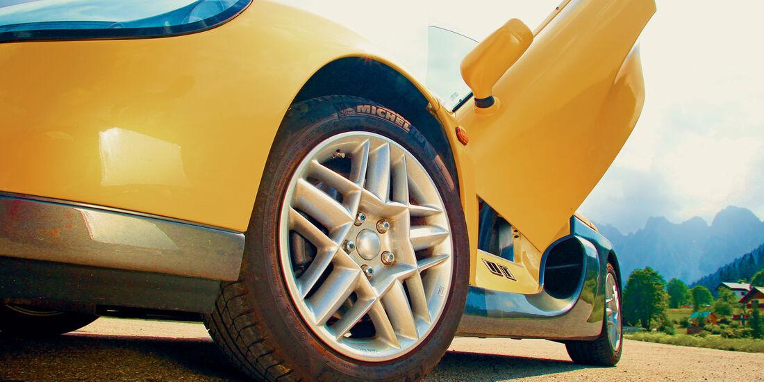 Renault Sport Spider, Rad, Felge