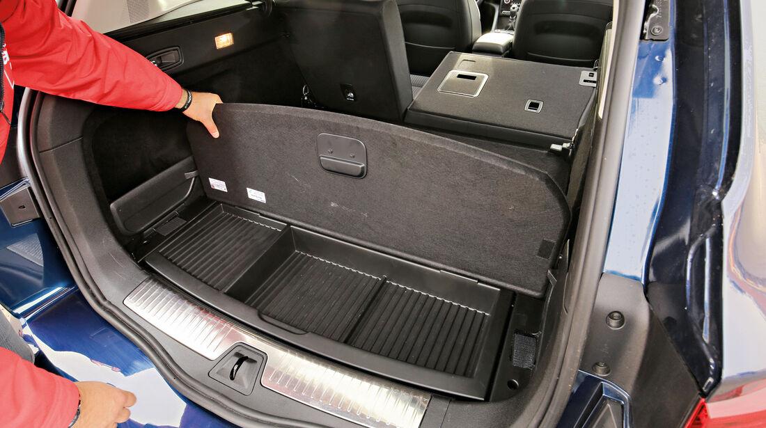 Renault Talisman GT dCi 130, Stauraum, Kofferrum