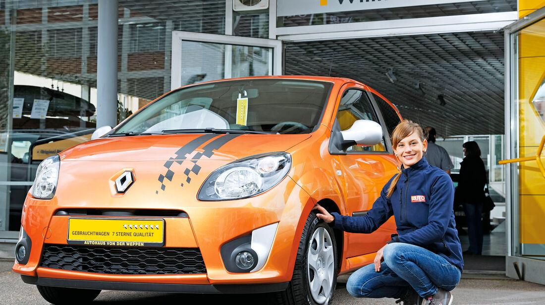 Renault Twingo, Frontansicht, Anna Matuschek
