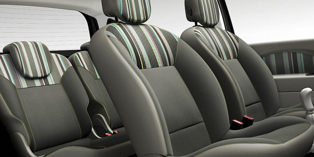Renault Twingo, Innenraum