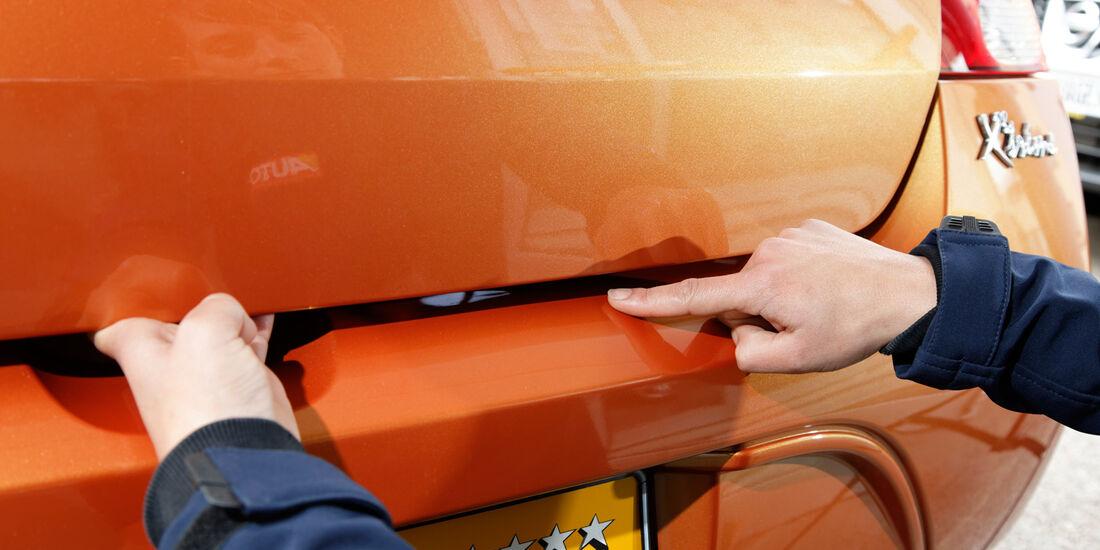 Renault Twingo, Karosserie, Lack