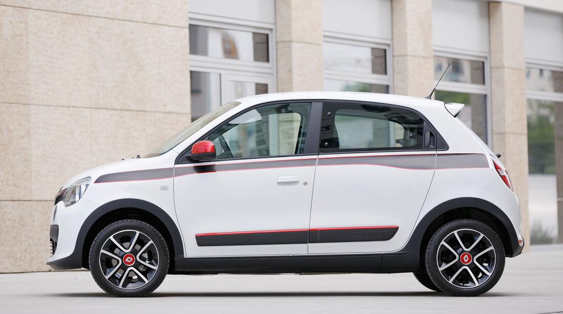 Renault Twingo, Seitenansicht