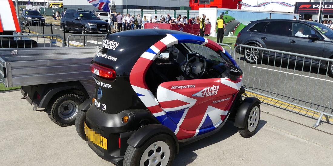 Renault Twizy - Fahrerautos - GP England 2018 - Silverstone