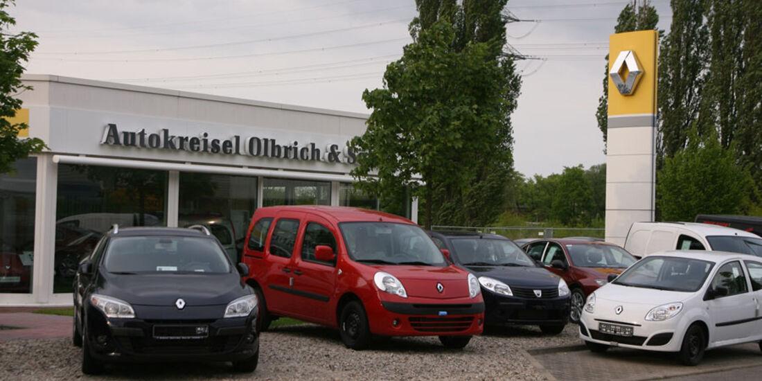 Renault-Werkstatt, Autokreisel Olbrich & Söhne