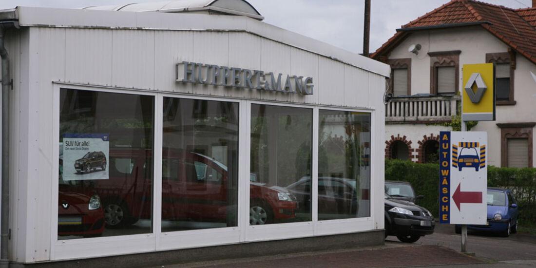 Renault-Werkstatt, Huppert & Mang
