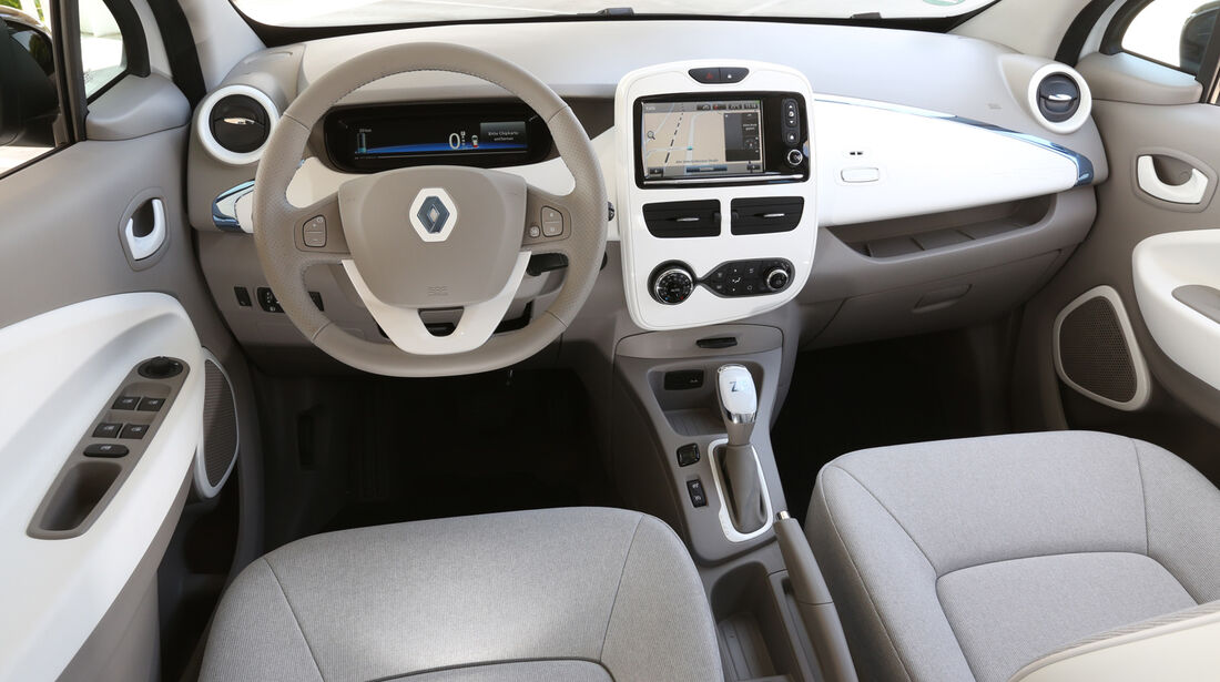 Renault Zoe, Cockpit