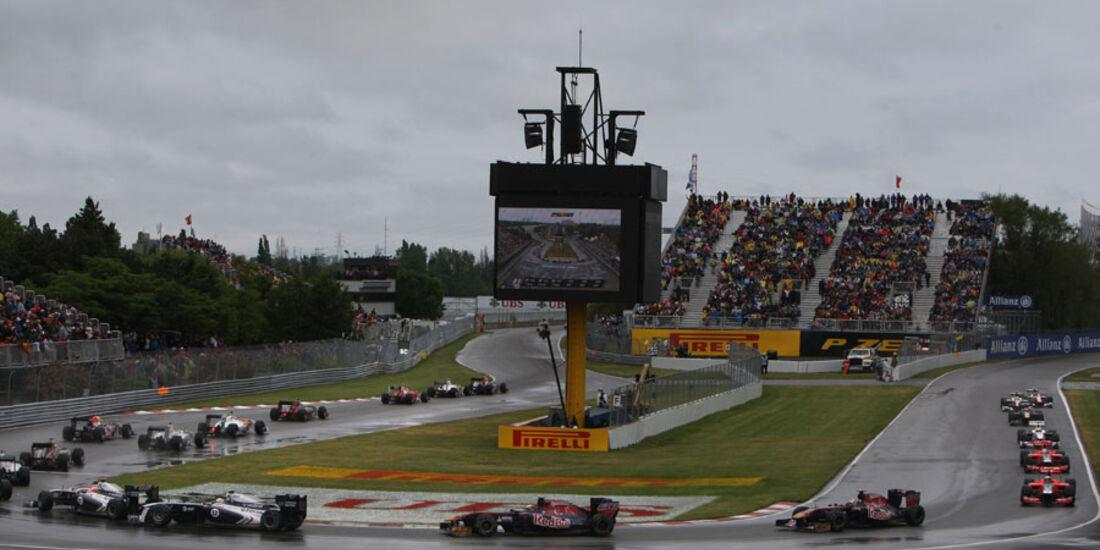 Rennen GP Kanada 2011