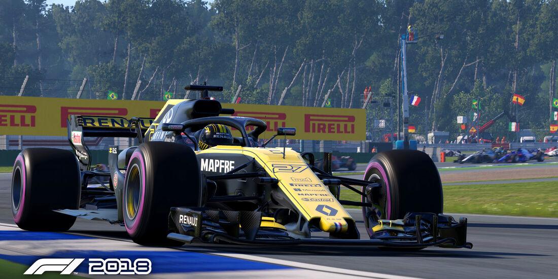 Rennspiel - F1 2018 - Game - Screenshot