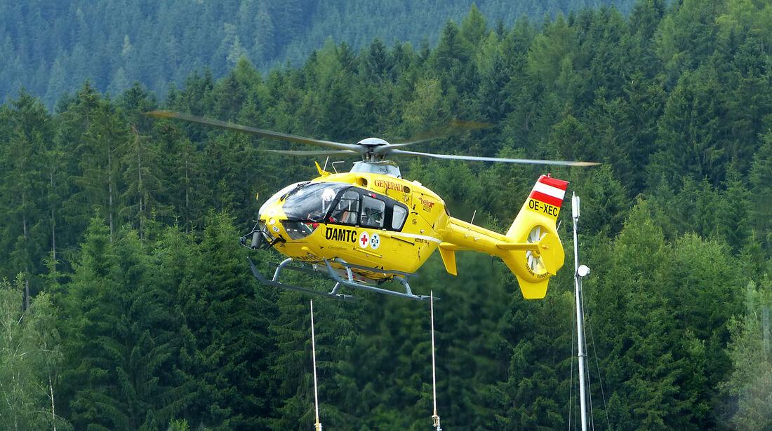 Rettungshubschrauber - Formel 1 - GP Österreich - 18. Juni 2014