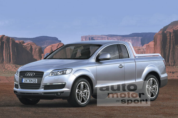 Retusche Audi Q7 Pickup
