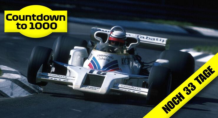 Riccardo Patrese - Shadow-Ford DN8 - GP Italien 1977