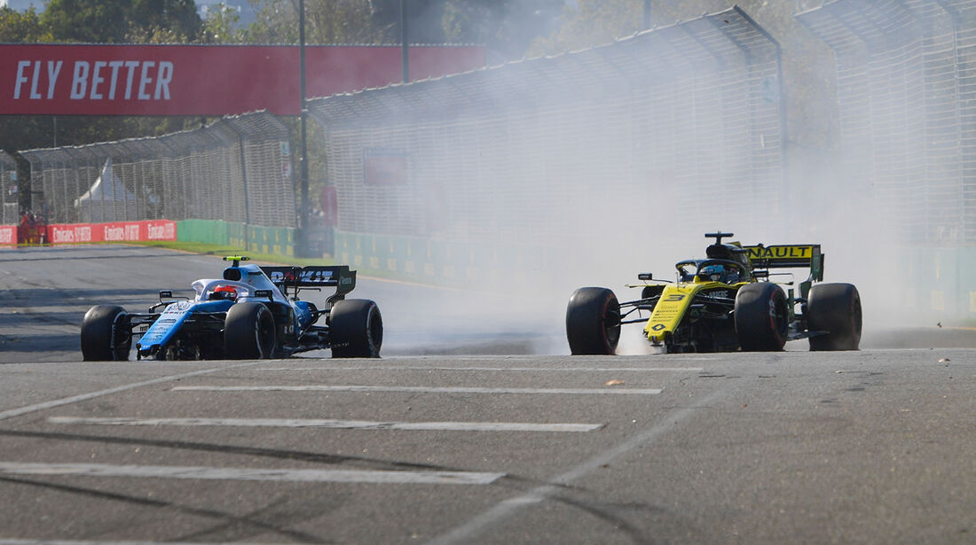 Ricciardo & Kubica - GP Australien 2019