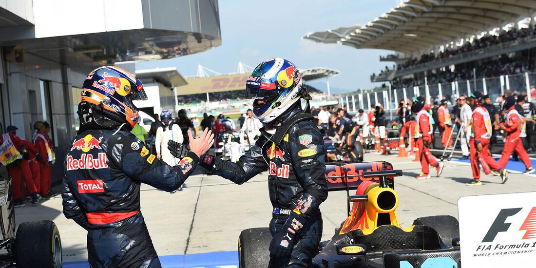 Ricciardo - Verstappen - GP Malaysia 2016 - Sepang