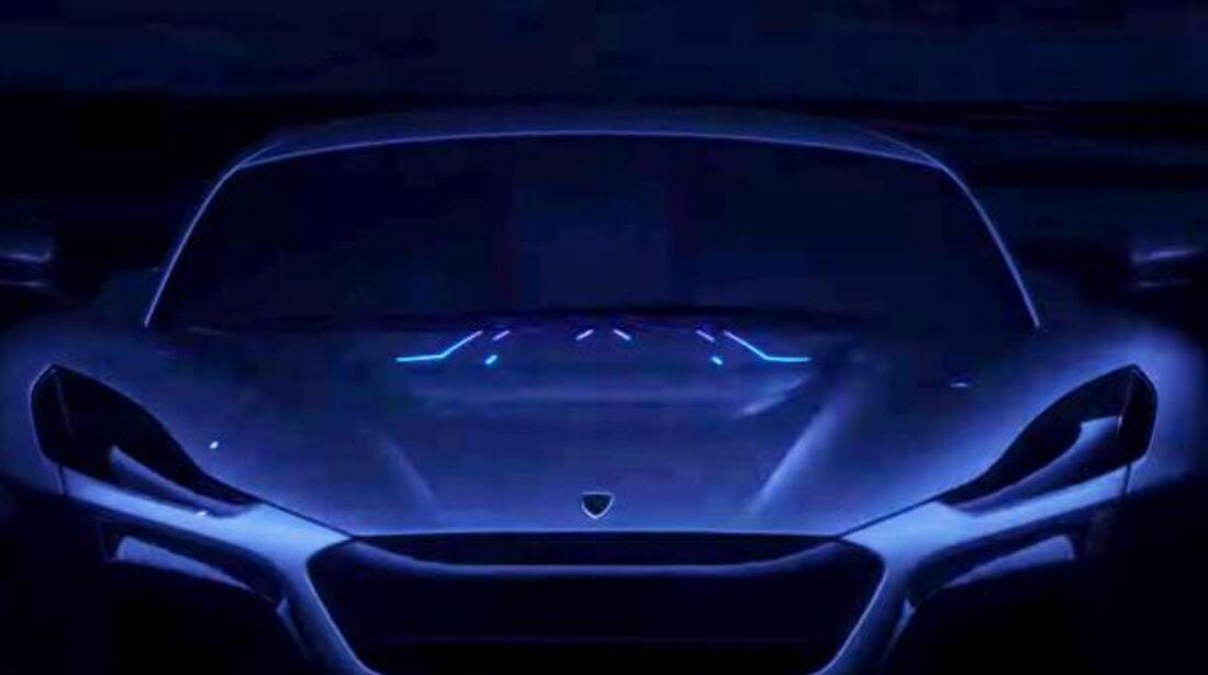 Rimac Concept 2 Teaser