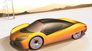 Rinspeed iChange Elektroauto