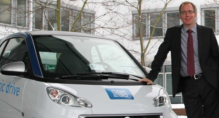 Robert Henrich, GF Daimler Mobility Services GmbH