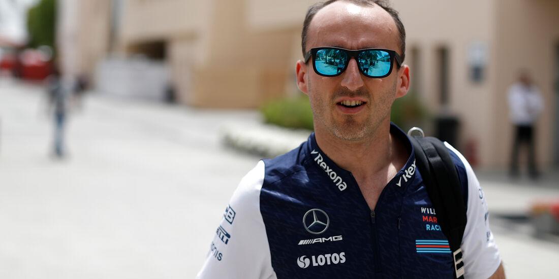 Robert Kubica - Williams - Formel 1 - GP Bahrain - Training - 6. April 2018
