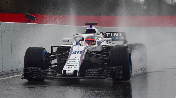 Robert Kubica - Williams- Formel 1 - Test - Barcelona - Tag 3 - 28. Februar 2018
