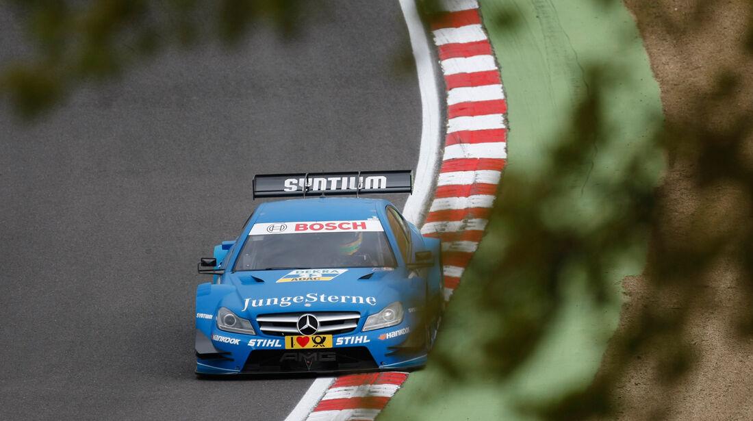 Roberto Merhi Mercedes DTM Brands Hatch 2012