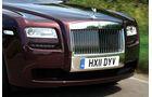 Rolls-Royce Ghost EBW, Kühlergrill, Scheinwerfer