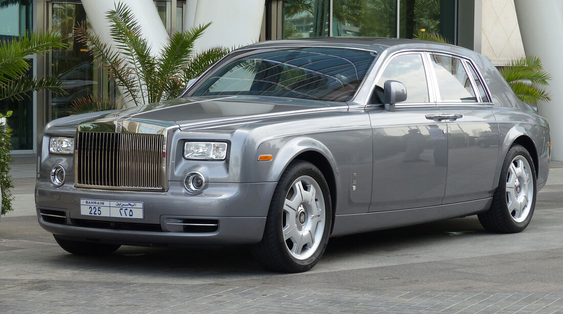 Rolls Royce Phantom - Carspotting Bahrain 2014