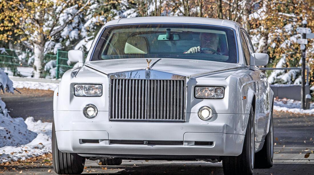 Rolls Royce Phantom, Frontansicht