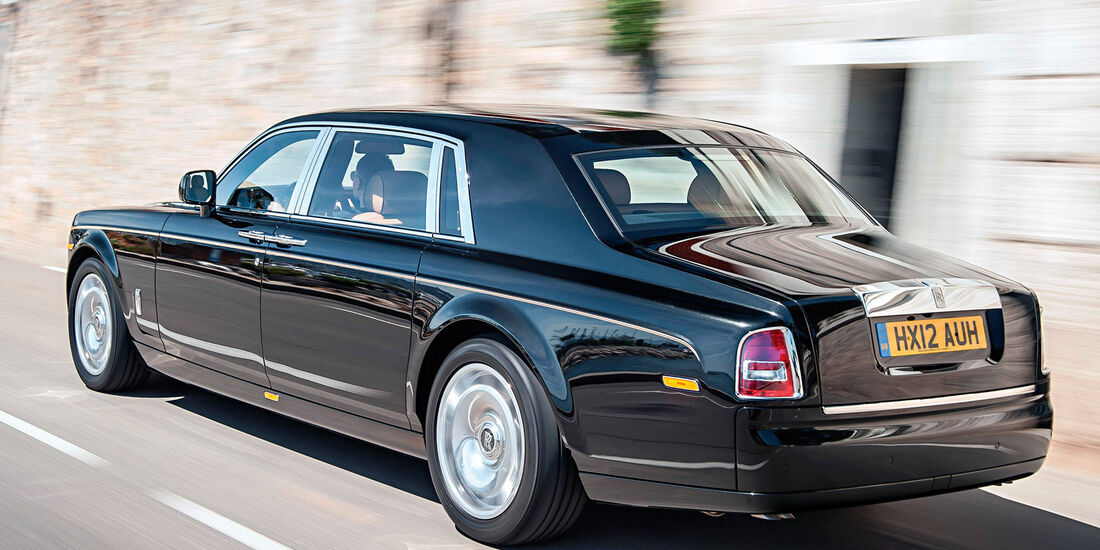 Rolls-Royce Phantom, Heckansicht