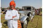 Rolls Royce Phantom, Oltimer, Frontansicht, Maharadscha