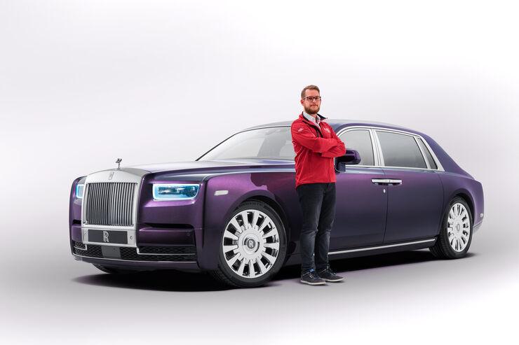 Rolls-Royce Phantom VIII Sitzprobe 2017