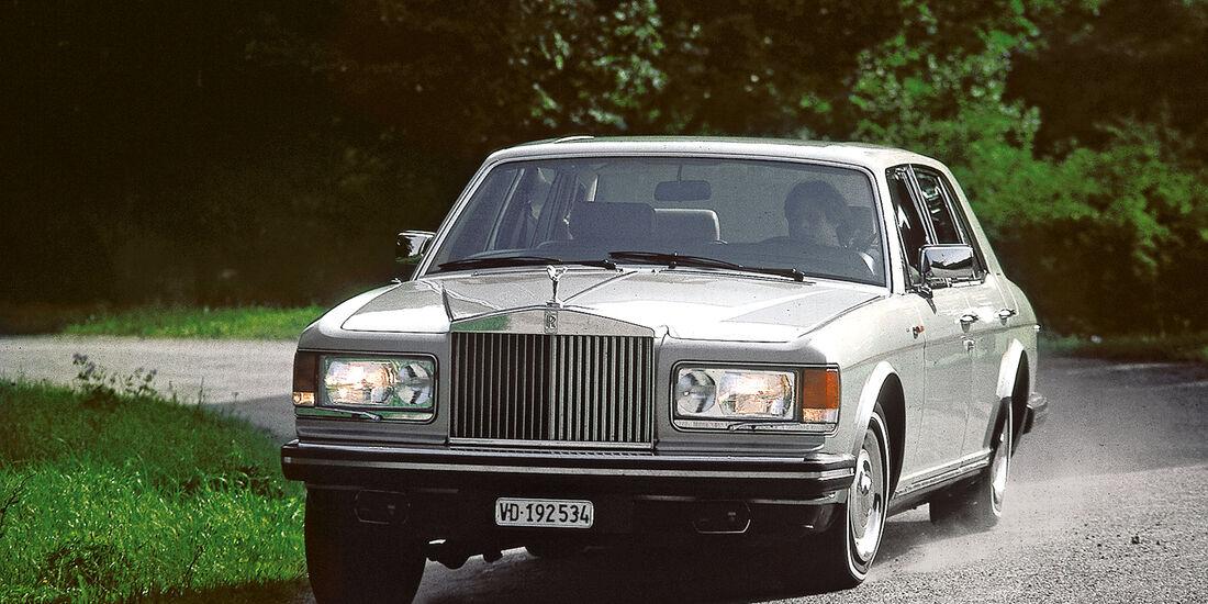 Rolls-Royce Silver Spirit, Frontansicht