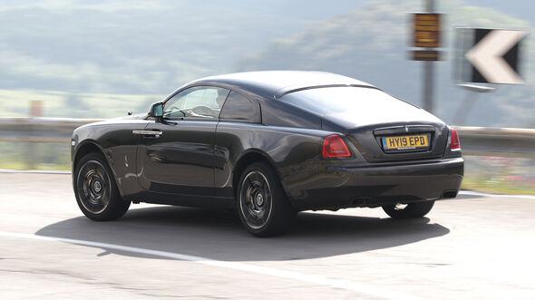 Rolls-Royce Wraith Back Badge, Exterieur