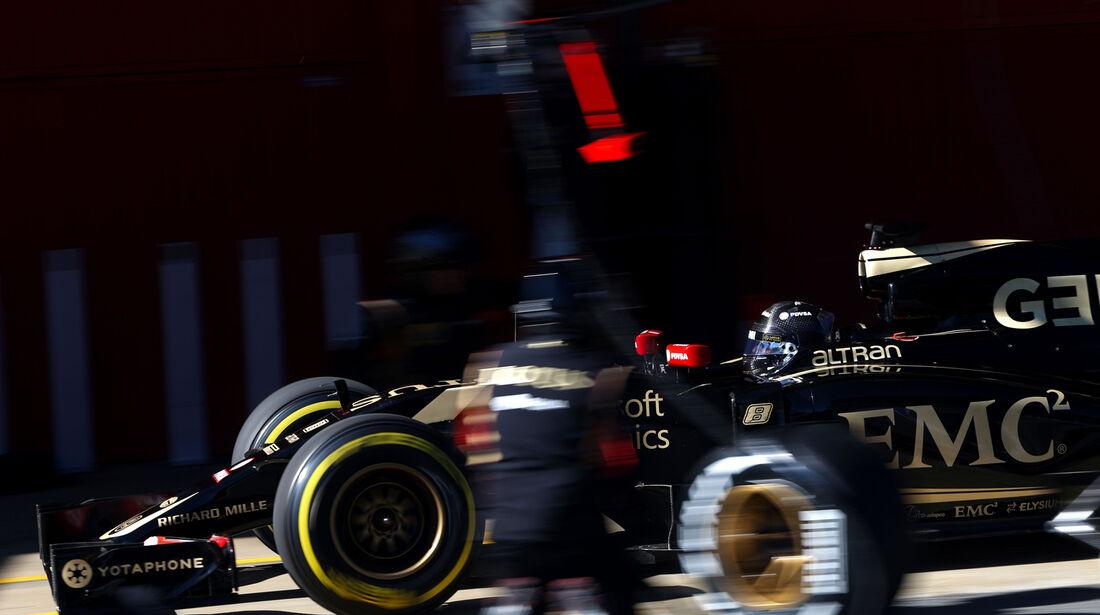 Romain Grosjean - F1-Test Barcelona - 2015