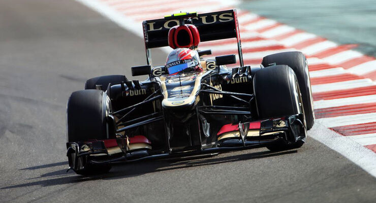 Romain Grosjean  - Formel 1 - GP Abu Dhabi - 01. November 2013