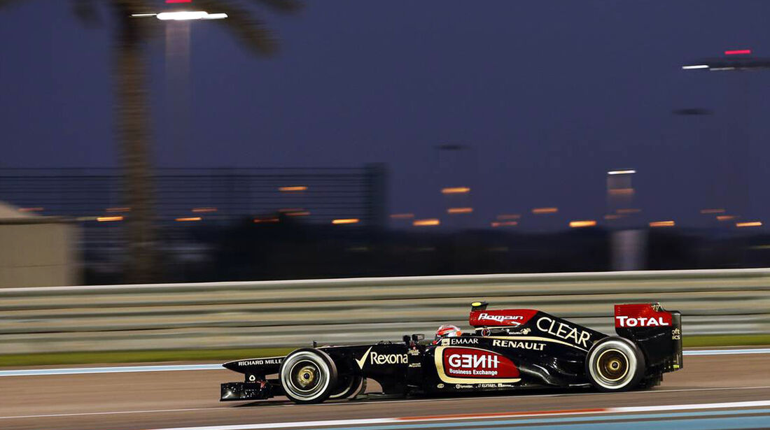 Romain Grosjean - Formel 1 - GP Abu Dhabi - 03. November 2013
