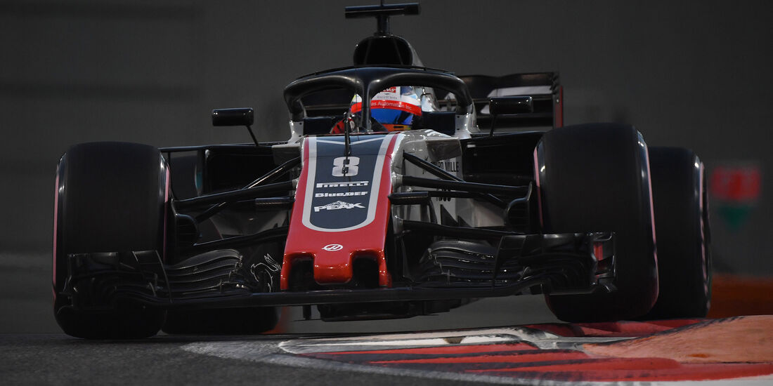 Romain Grosjean - Formel 1 - GP Abu Dhabi 2018