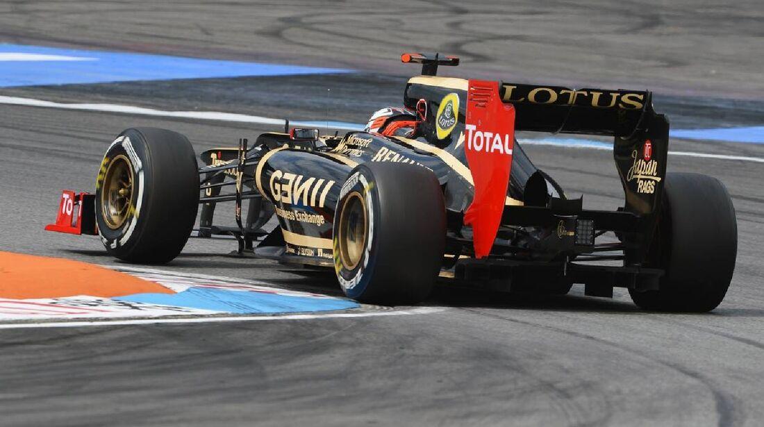 Romain Grosjean - Formel 1 - GP Deutschland - 21. Juli 2012
