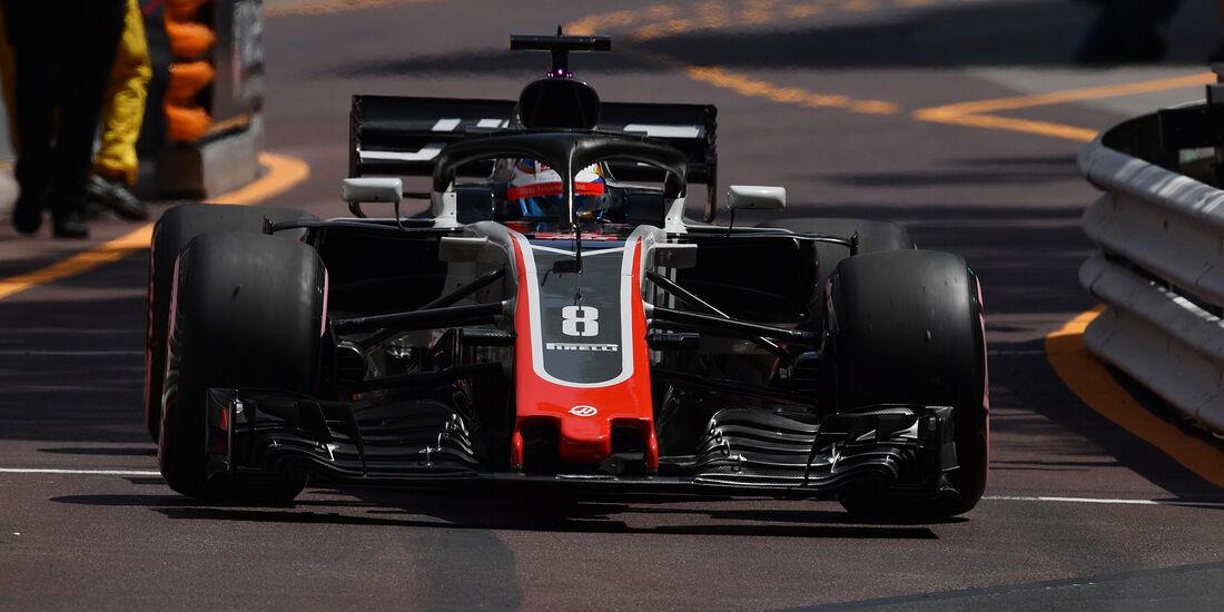 Romain Grosjean - Formel 1 - GP Monaco 2018