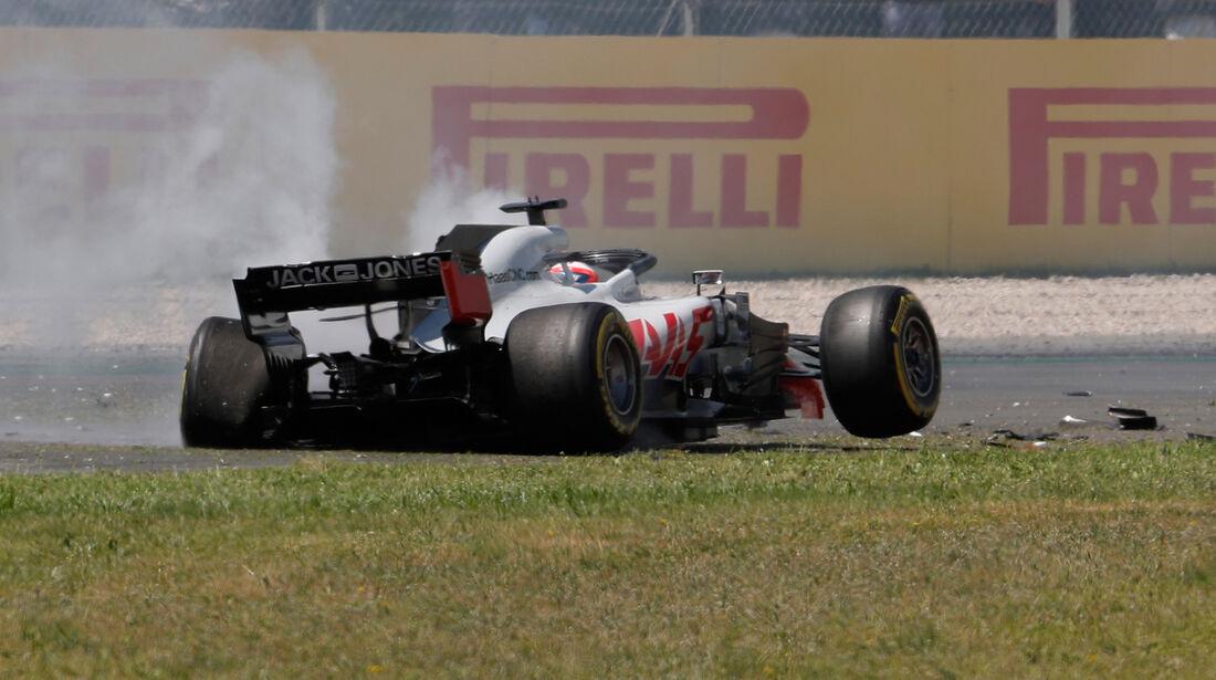 Romain Grosjean - Formel 1 - GP Spanien 2018