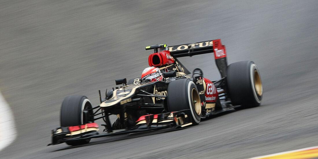 Romain Grosjean - GP Belgien 2013