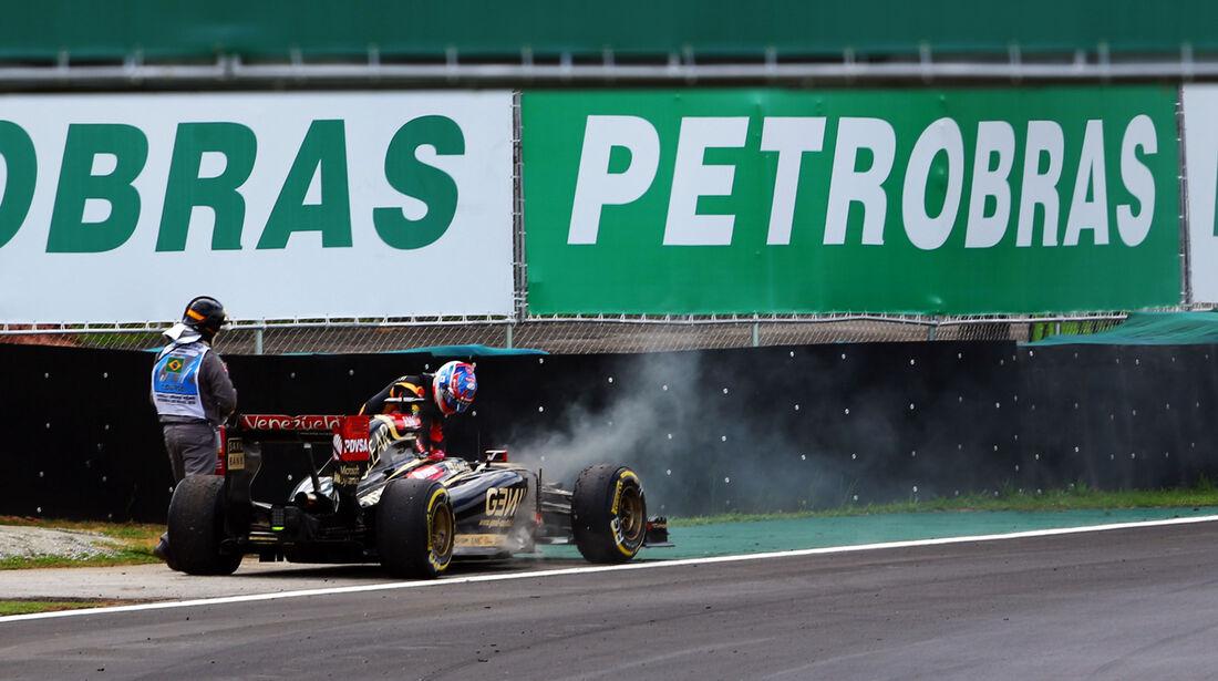 Romain Grosjean - GP Brasilien 2014