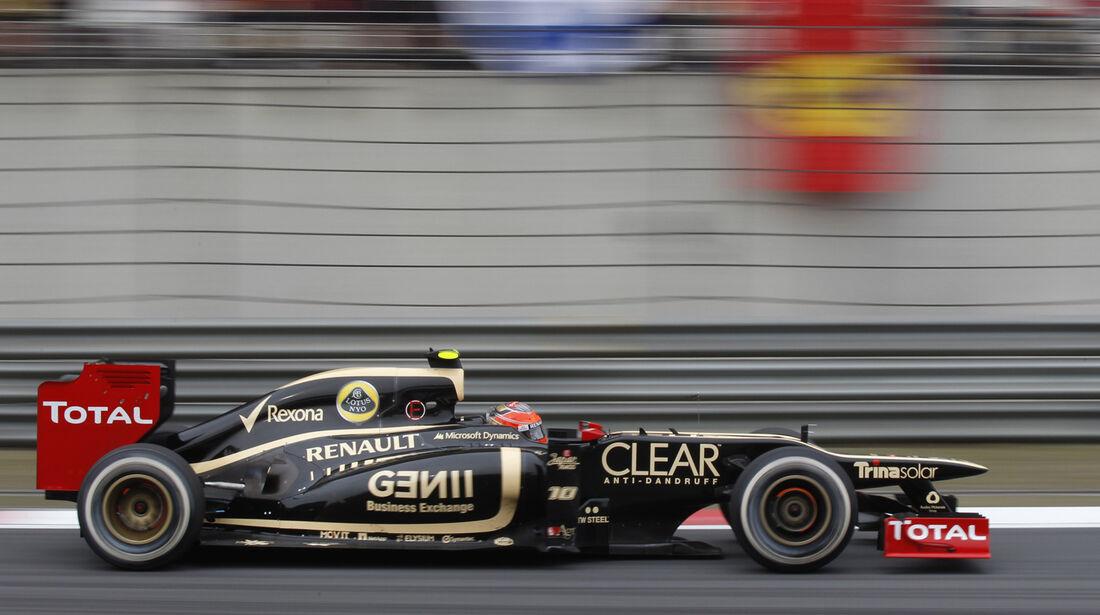 Romain Grosjean GP China 2012