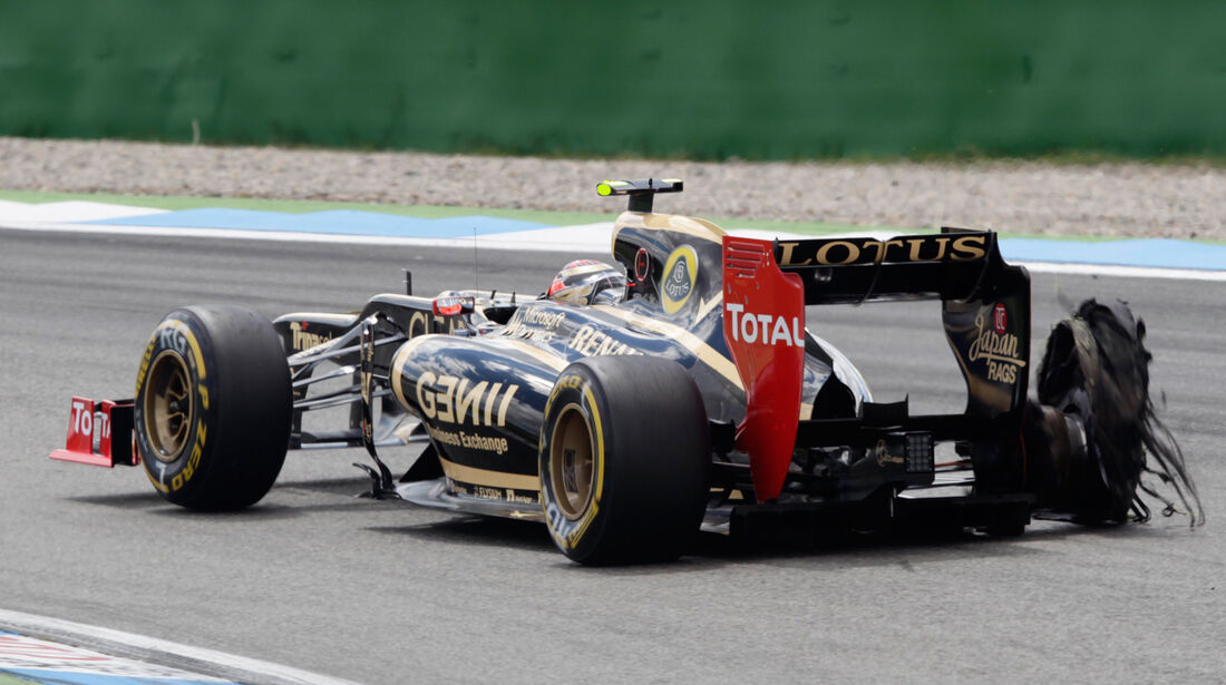 Romain Grosjean GP Deutschland 2012