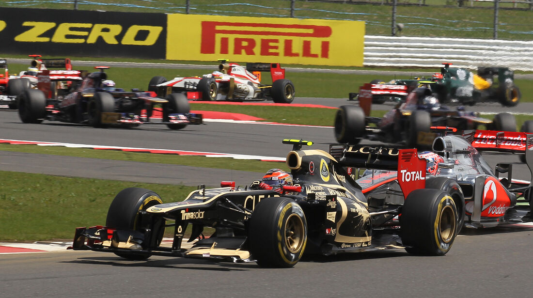 Romain Grosjean GP England 2012
