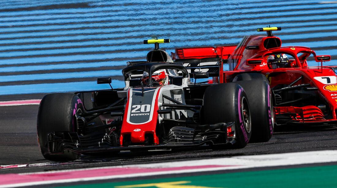 Romain Grosjean - GP Frankreich 2018