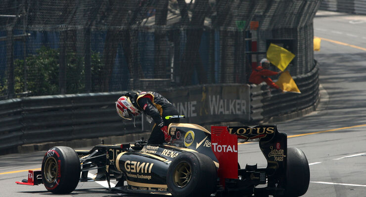 Romain Grosjean - GP Monaco 2012
